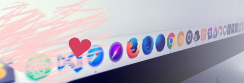 Mac OS Dock with some of our favoite app icons