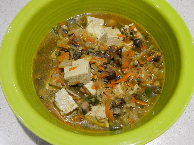 Thai Soup Serving