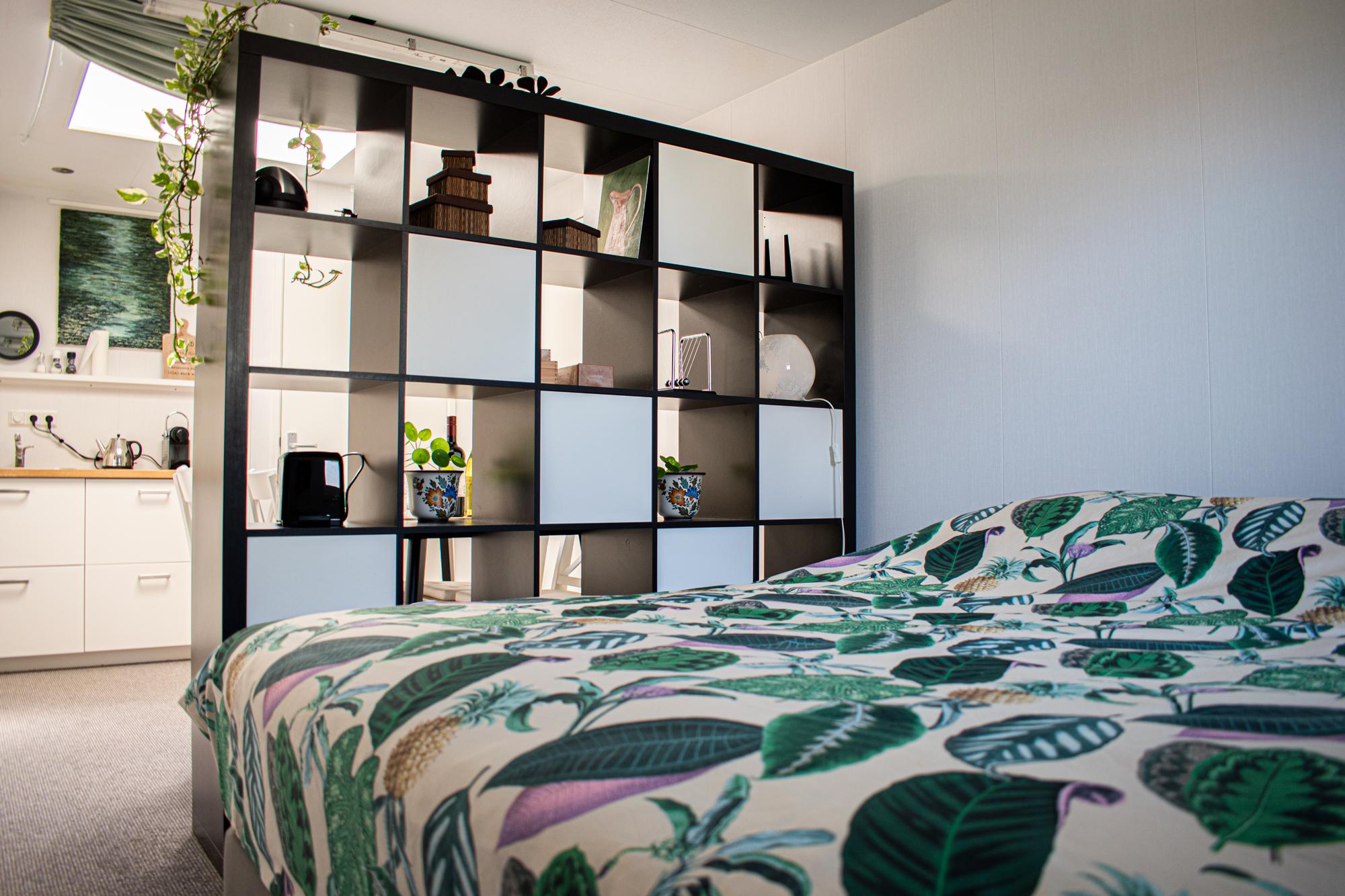 Kruisbergsetuin Bed en Breakfast: Interieur: het tweepersoonsbed (160x200)