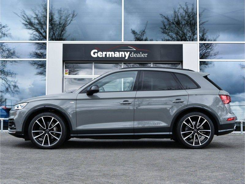 Audi Q5 3.0TDI 286 pk quattro Lucht S-Line Head-Up B&O LED Pano Standk ACC Carbon 21-Inch afbeelding 2