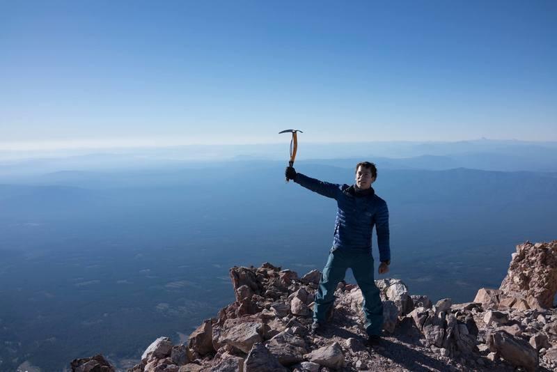 Summiting Mount Shasta