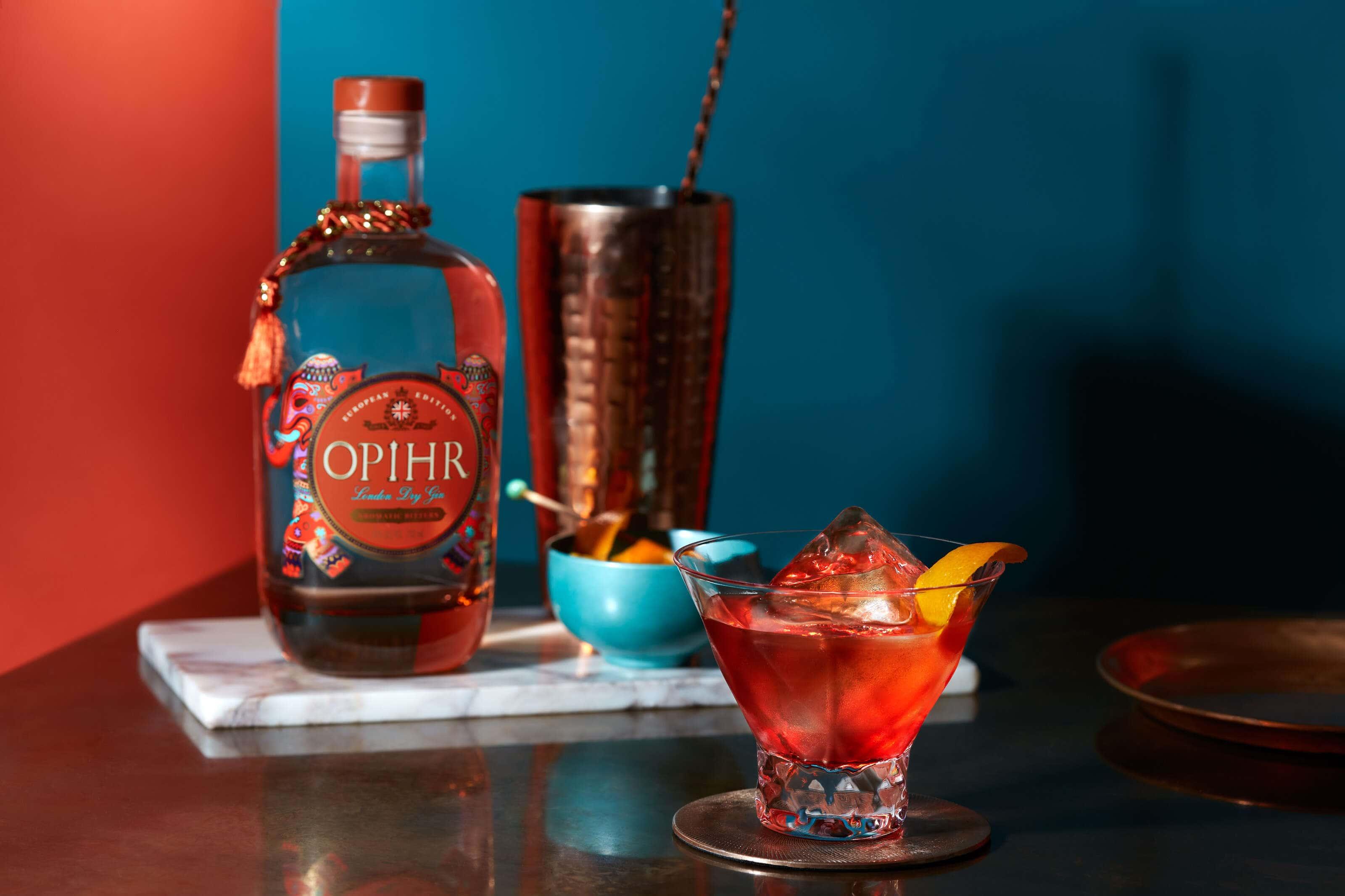 Opihr Gin European Spiced Negroni