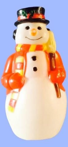 Miniature Doorstep Snowman photo