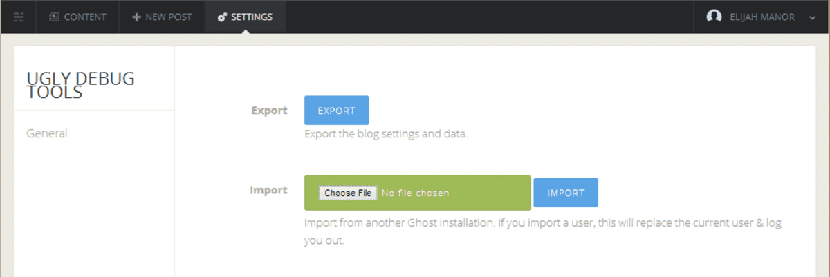 import tool PNG