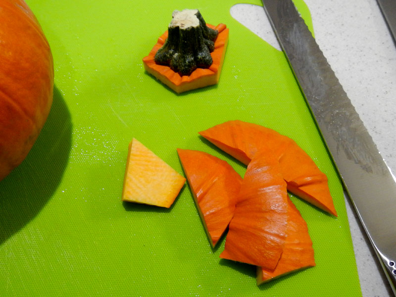 Pumpkin Top Trimmed
