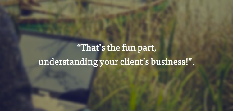 understanding your clients business