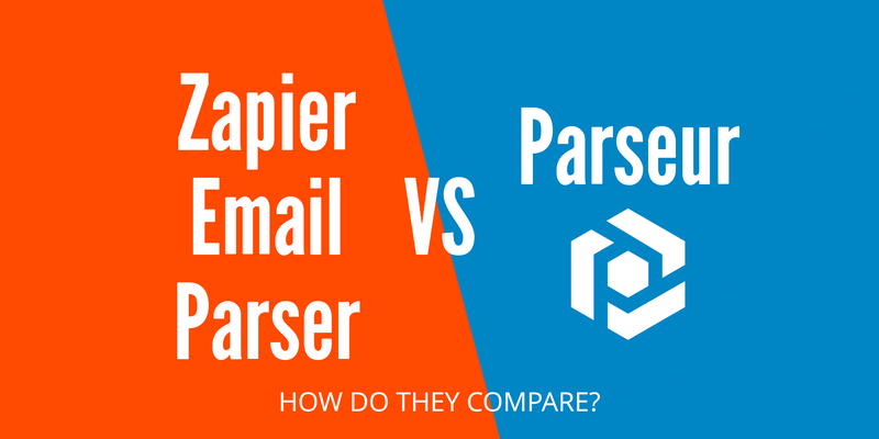 Comparing Zapier Email Parser vs Parseur cover image