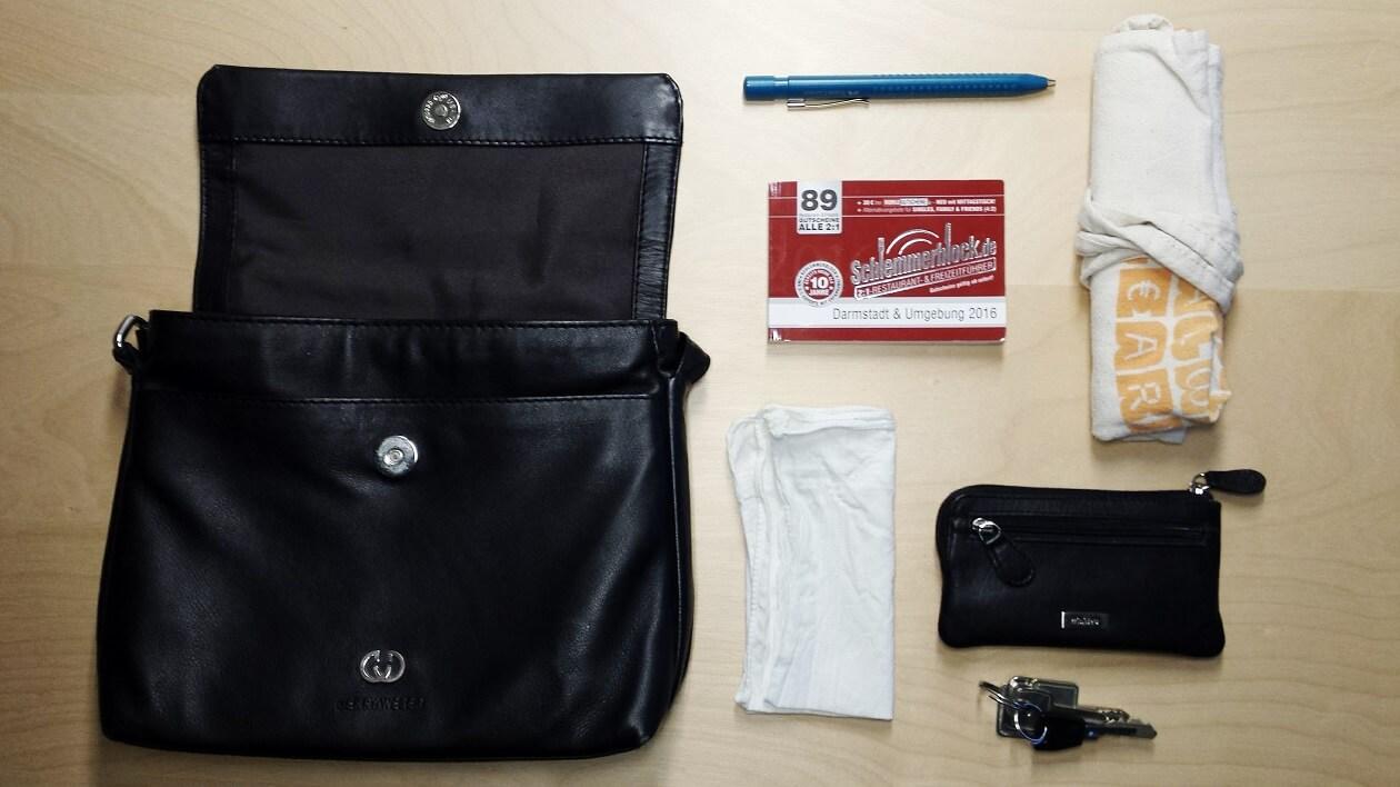 Inhalt meiner Handtasche