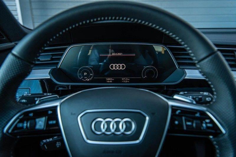 Audi e-tron 55 Quattro Advanced Exterieur, 408 PK, 4% bijtelling, Head/Up display, Pano/Dak, Night/Vision, S-line interieur, 15DKM afbeelding 16