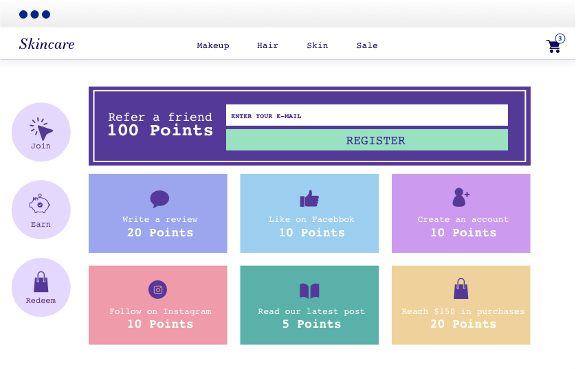 Referral points