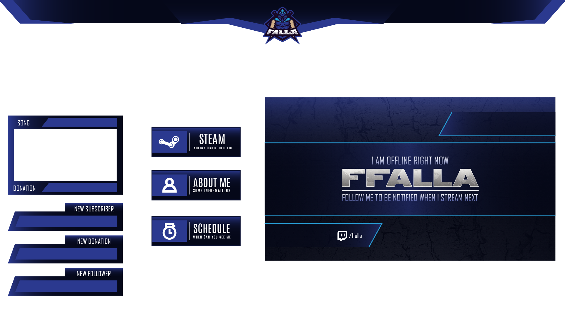 Ffalla Twitch Graphics