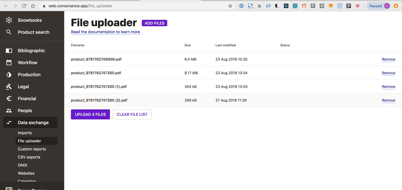 file uploader screenshot