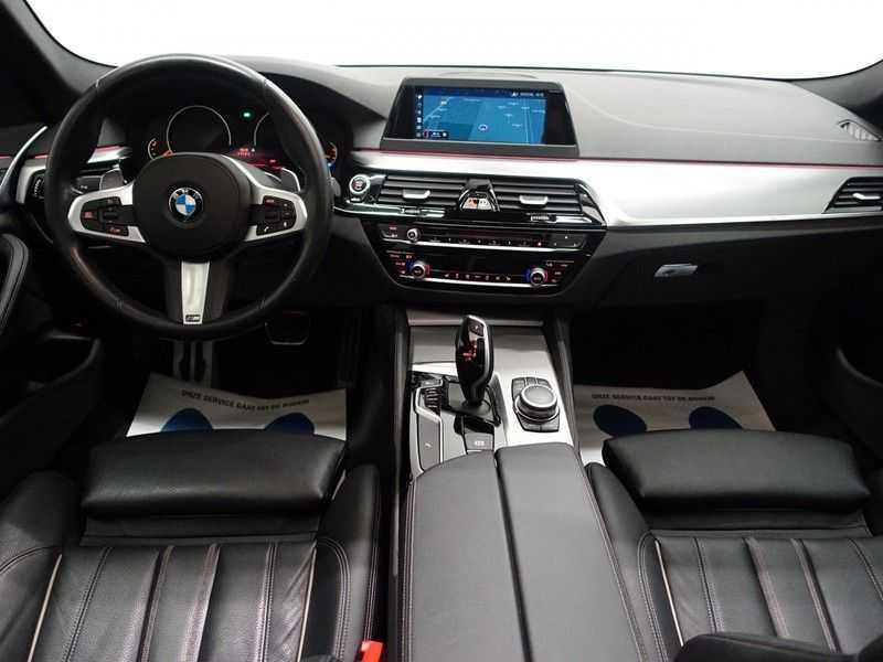 BMW 5 Serie Touring 520i High Exe 210pk M- Perfomance Powerkit- Pano, Leer, Full afbeelding 8