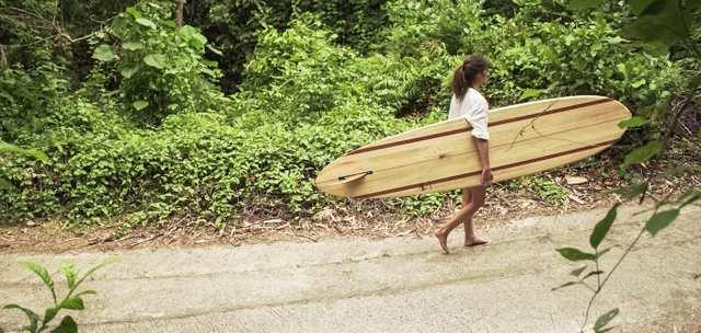 Magic Green - Balsa Surfboards