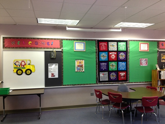 Colorful Elementary School Bulletin Boards