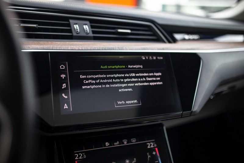 "Audi e-tron 55 Quattro *4% Bijtelling / Massage / HUD / Pano / 21"" / Hulppakket Stad & Tour* afbeelding 13"
