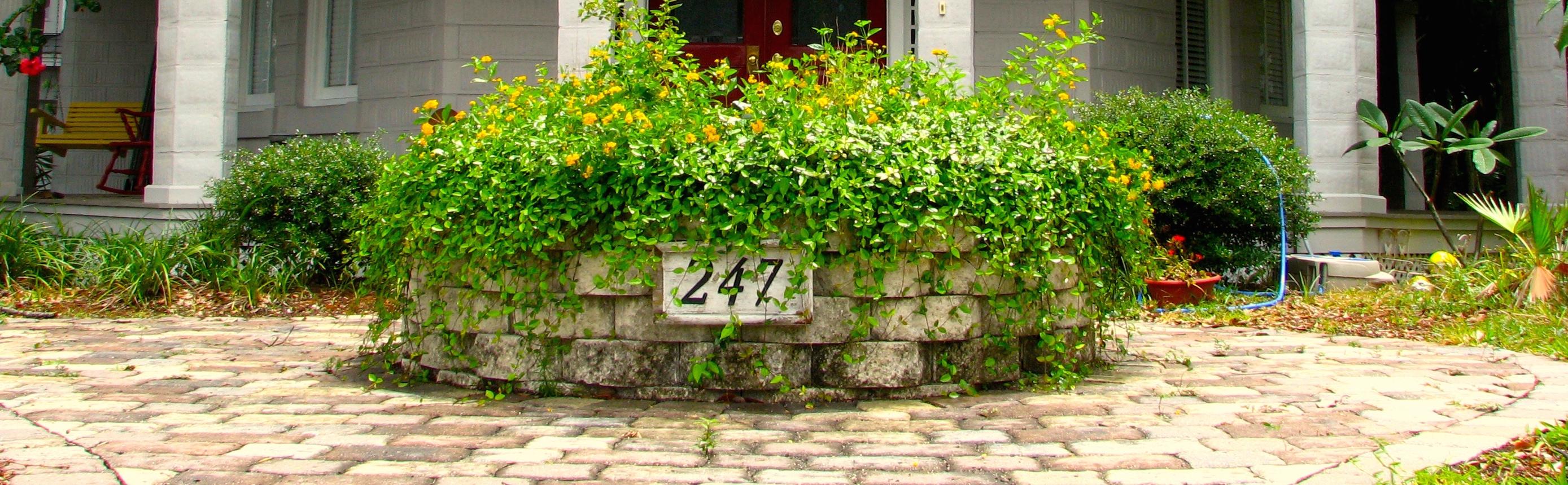 House number address