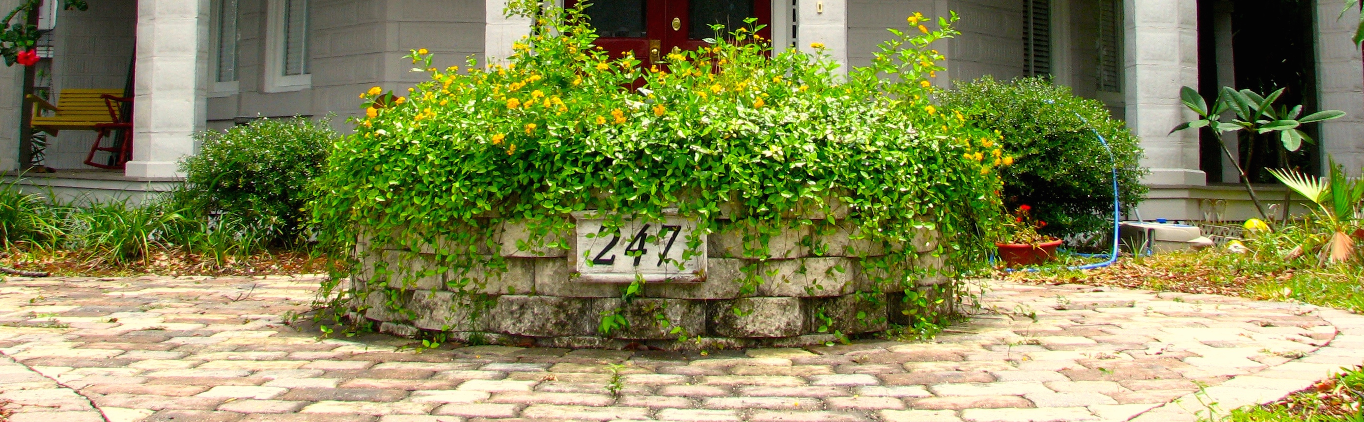 House number address