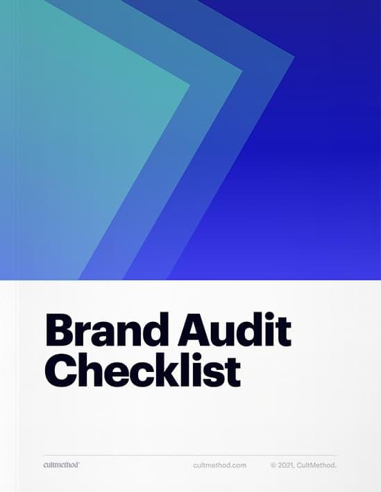 Cover page of Brand Audit Checklist