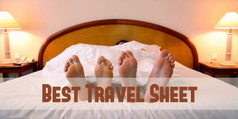 It's important to have a good night's sleep and feel comfortable. That's why you need a good quality and reasonably priced travel sheet