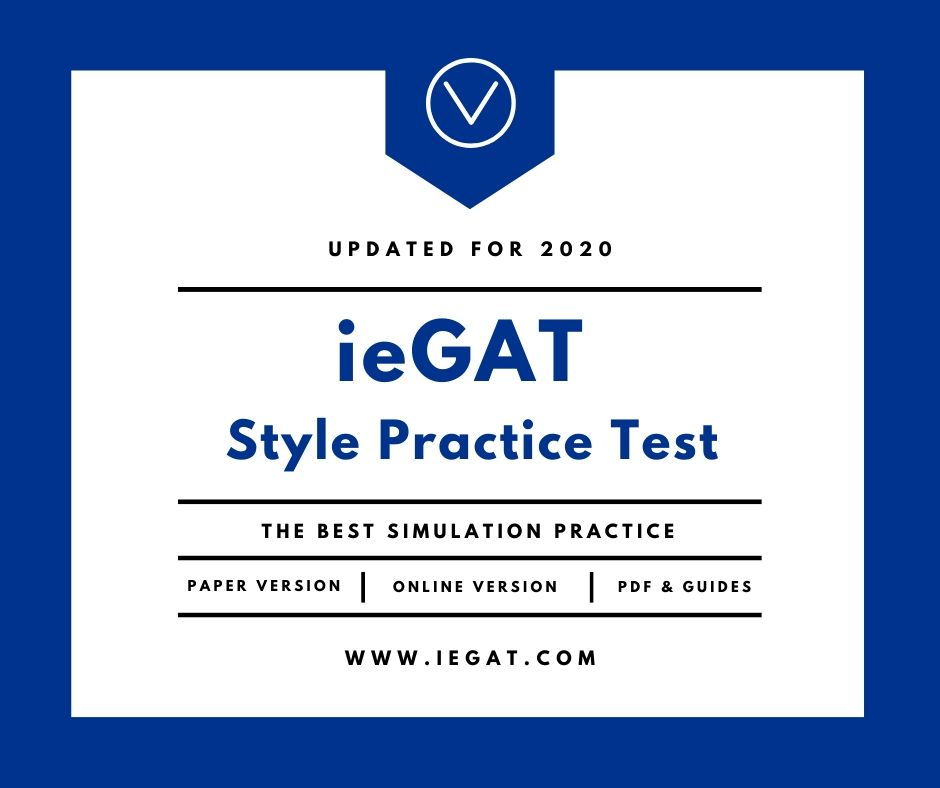 ieGAT Practice Test for the IE Admission Test PDF
