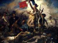 Delacroix's Liberty Leading the People (1830)