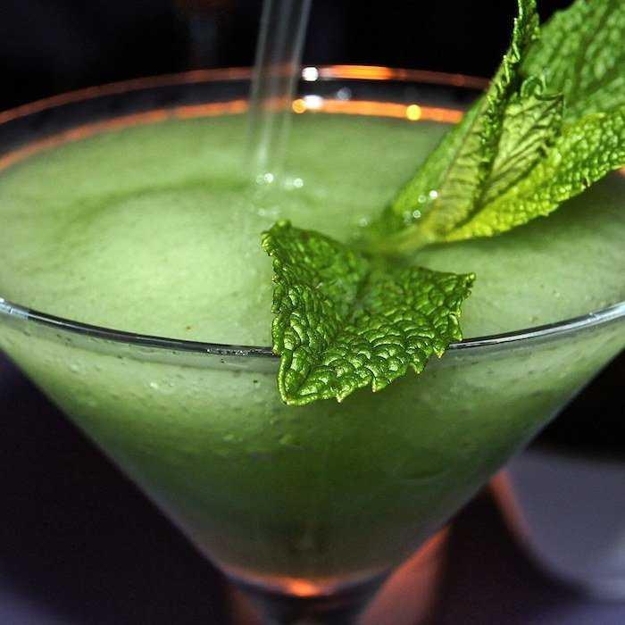 Frozen Mint Daiquiri Cocktail