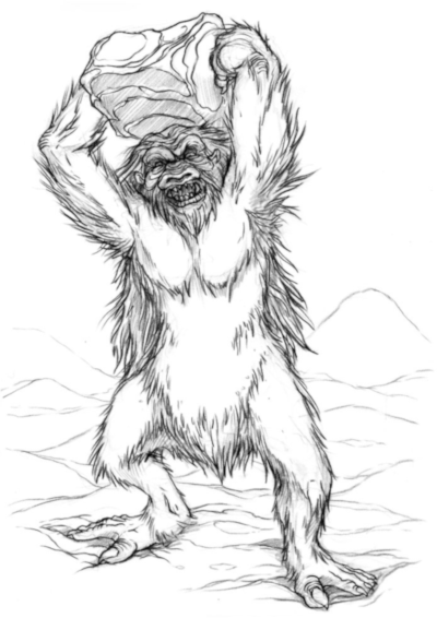 Angry Yeti Sketch