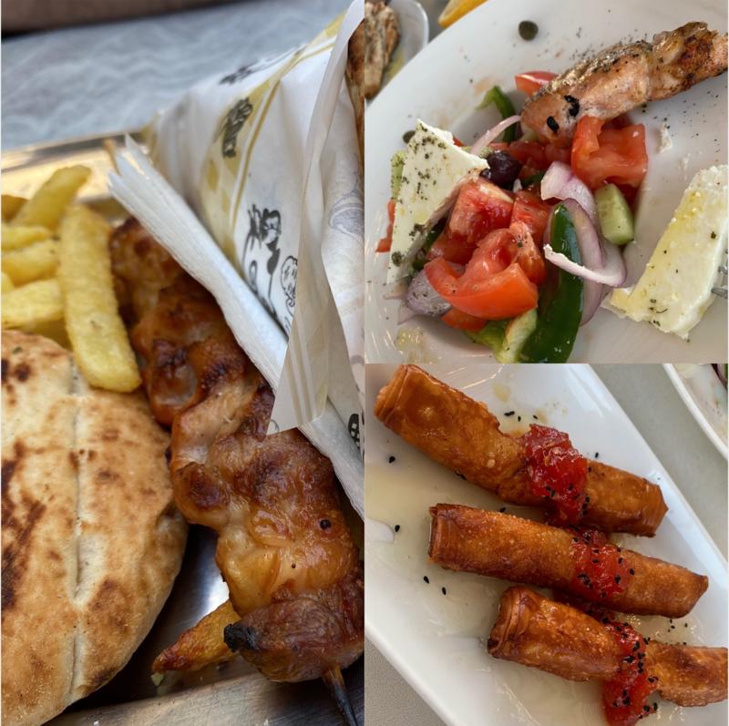 Feta & Salad in Athens
