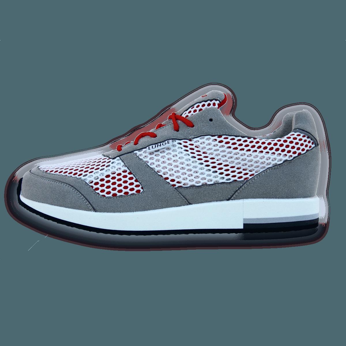 Classic Run in Silber / Weiß / Rot