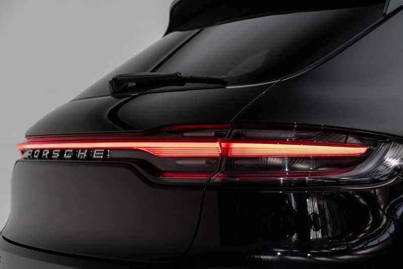 "Porsche Macan 3.0 S 354pk PDK Black Design Nieuw Model Luchtvering Panoramadak SportChrono ACC Sportleder+Memory Keyless Full-Led Navi/High Privatglass AppleCarplay 21""Turbo Pdc afbeelding 9"