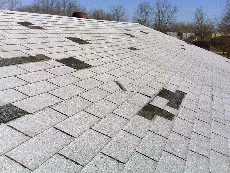 storm wind damage roof repair tyler tx