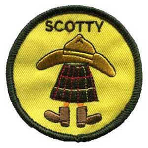 Scotty spejdermærke