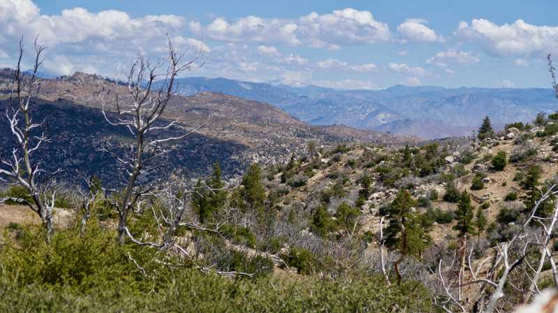 View of Olanche Peak