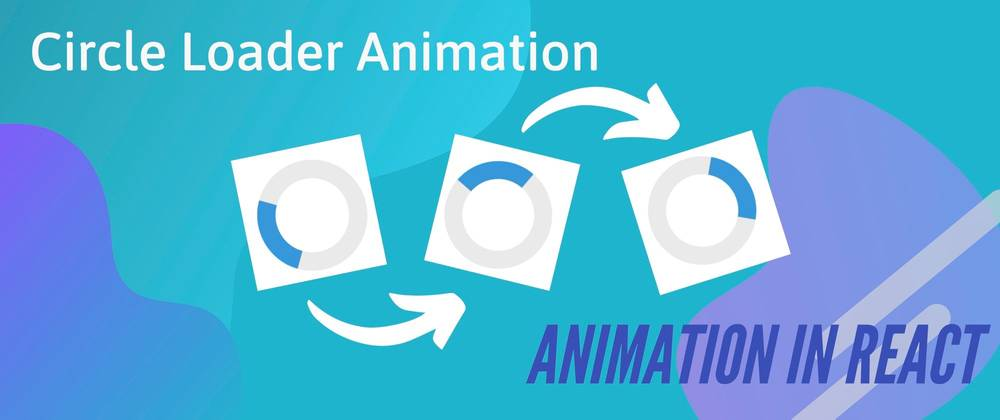circle loader animation, three frames of circle loading animation