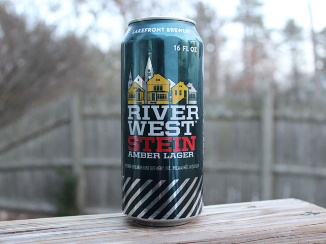 Riverwest Stein, a Amber Lager brewed by Lakefront Brewery