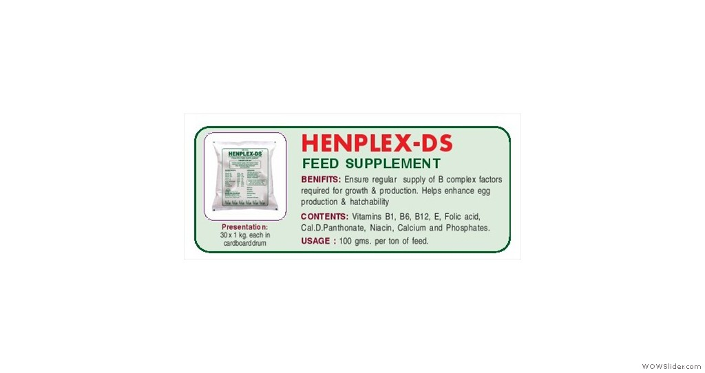 B-Complex Feed Supplement