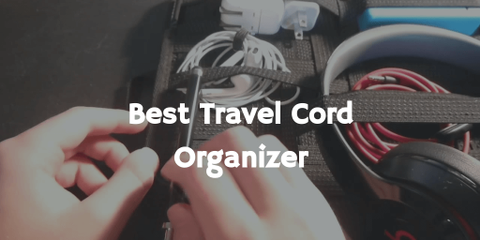 We were on a quest to find out the best cable organizer for our trips. After researching for many hours we found it to be the best travel cord organizer.