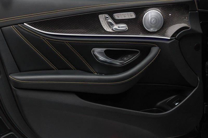 "Mercedes-Benz E-Klasse E63s AMG EDITION 1 4Matic 612pk (MAGNO MAT) Panoramadak Distronic Nightpakket Schaalstoelen Burmester Carbon ComandOnline Keyless 20"" Parktronic Pdc afbeelding 14"