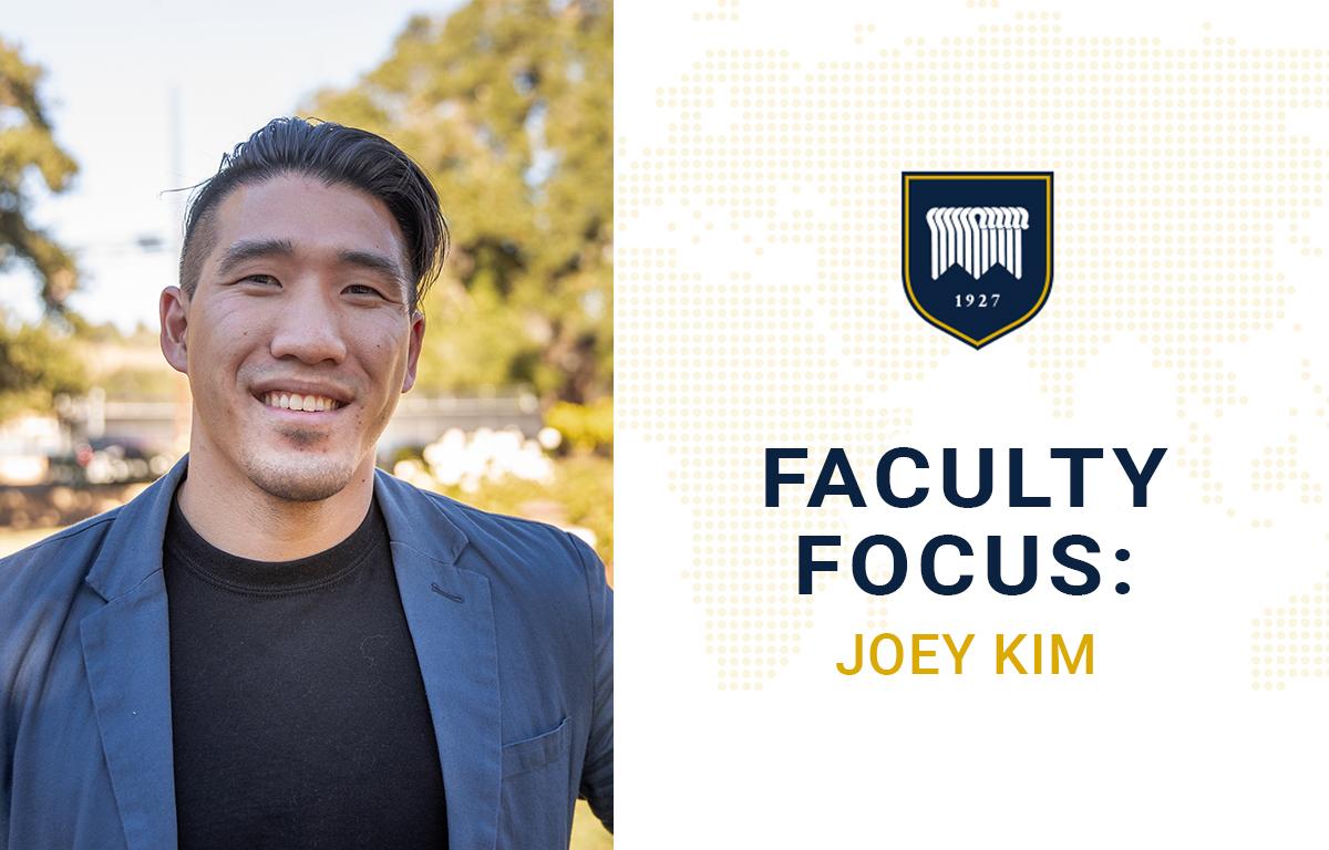 Faculty Focus: Joey Kim