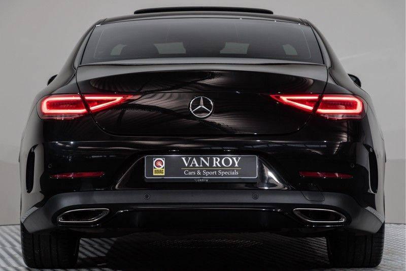 "Mercedes-Benz CLS-Klasse CLS450 AMG 367pk 4Matic Schuifdak Nightpakket Widescreen DistronicPlus Burmester SuperSportStuur Luchtvering Multibeam Keyless ComandOnline AmbientLight DAB Parktronic 20""AMG 360Camera Pdc 10/2018 afbeelding 12"
