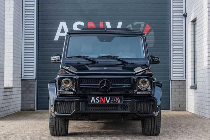 Mercedes-Benz G-Klasse 63 AMG, 571 PK, Full/Black Optiek, Schuif/-Kanteldak, TV, Harman/Kardon, Designo leder, Distronic, 57DKM!!! afbeelding 20