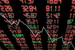 The market taking a downturn