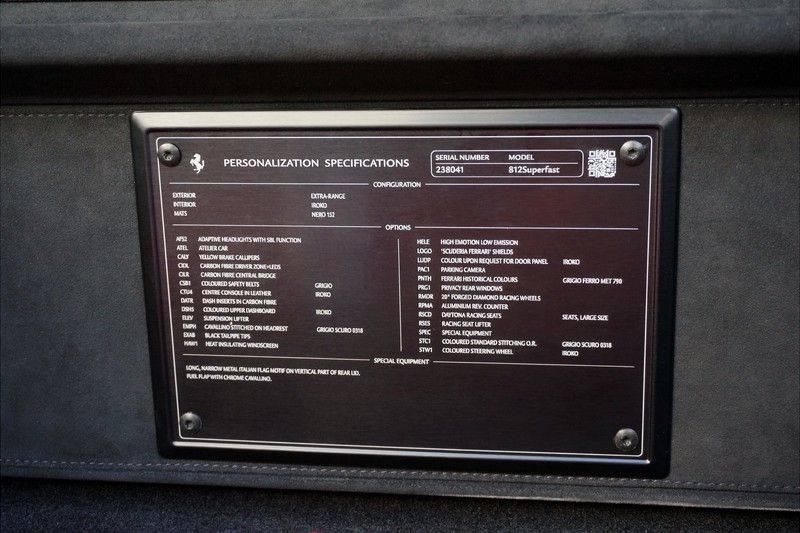 Ferrari 812 Superfast 6.5 V12 Grigio Ferro afbeelding 20
