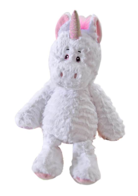 "The Petting Zoo: 14"" Snugglerz Unicorn Pink"