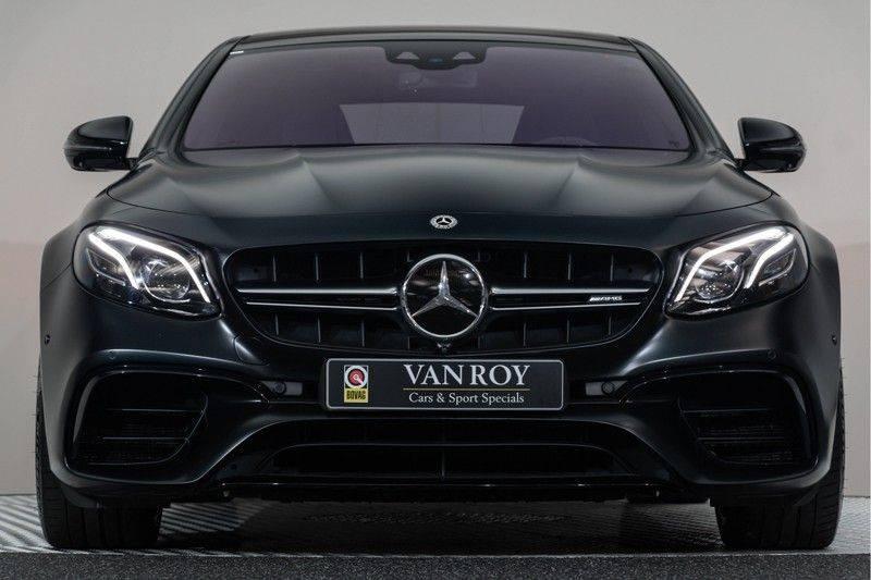 "Mercedes-Benz E-Klasse E63s AMG EDITION 1 4Matic 612pk (MAGNO MAT) Panoramadak Distronic Nightpakket Schaalstoelen Burmester Carbon ComandOnline Keyless 20"" Parktronic Pdc afbeelding 11"