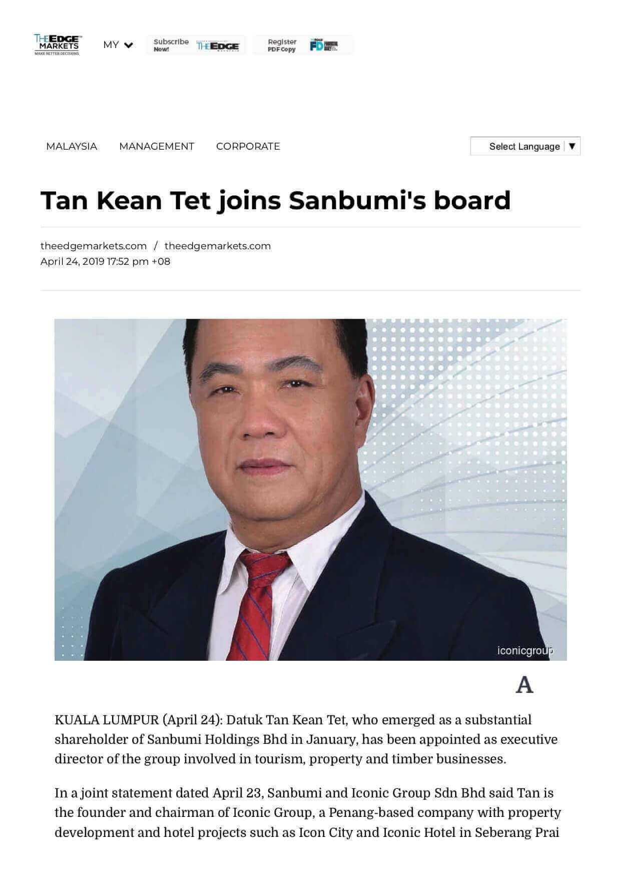 19apr24 the edge markets online tan kean tet joins sanbumi s board1