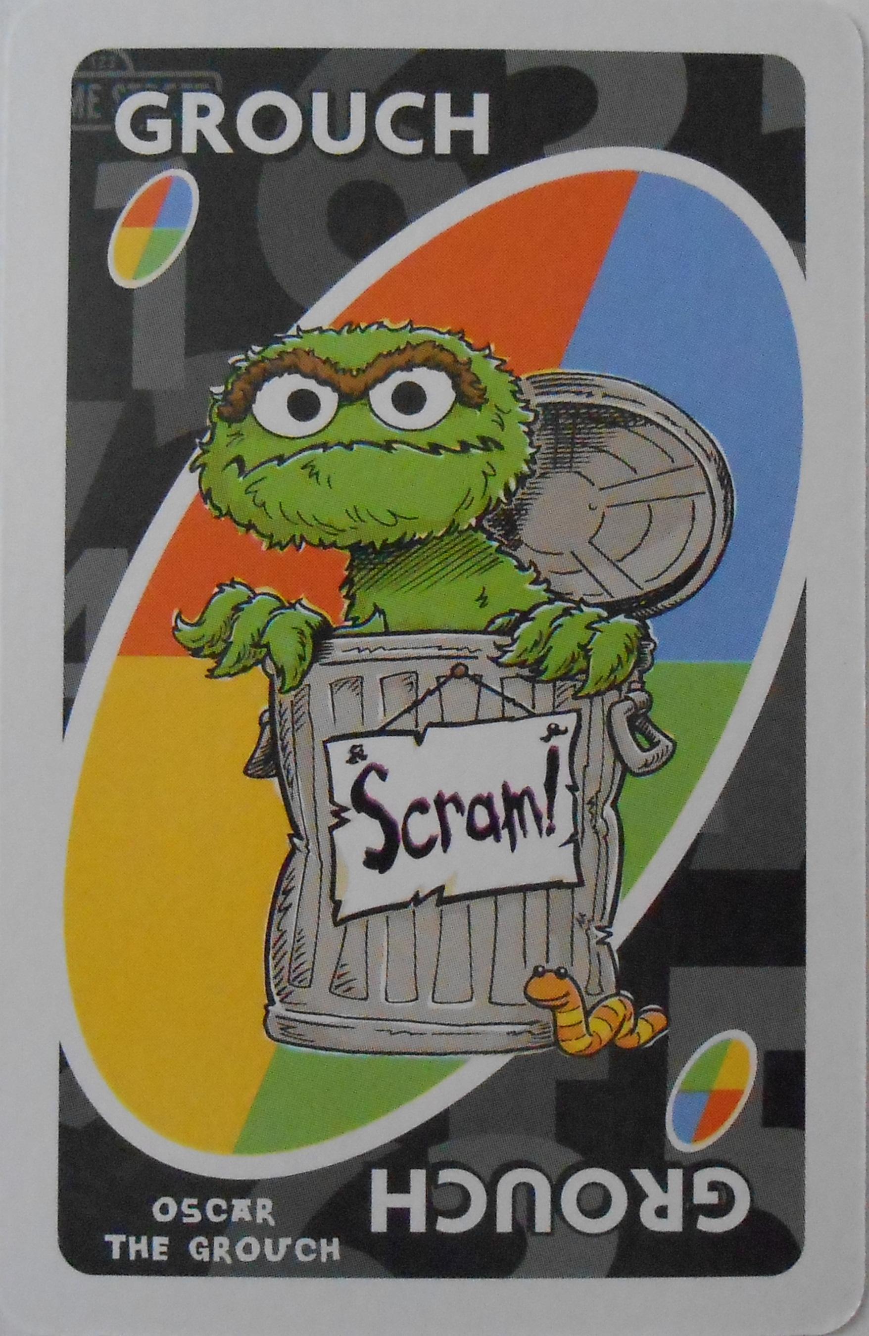 Sesame Street Uno (Grouch Card)