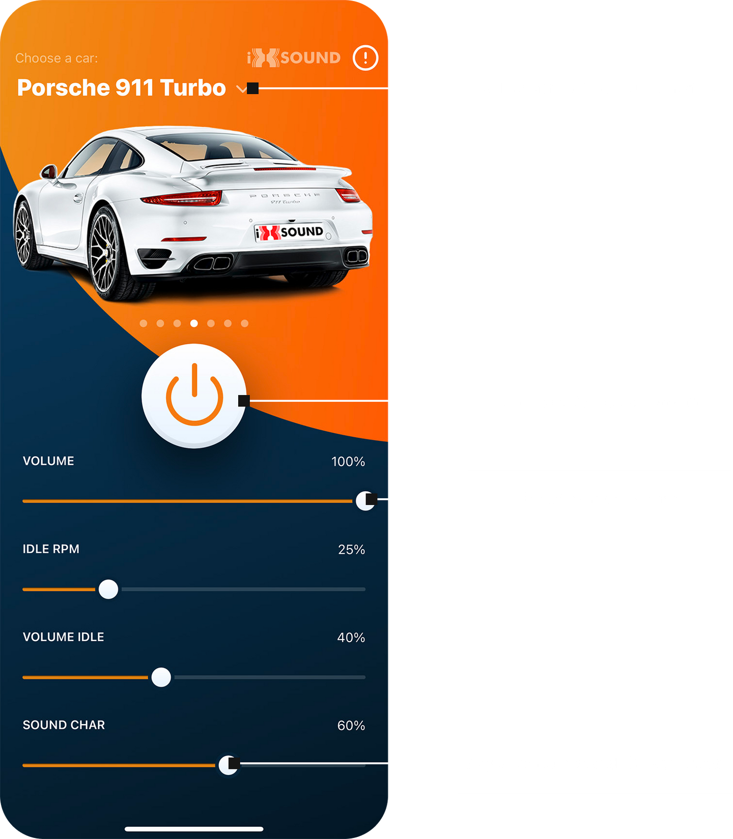 Active exhaust system app preview