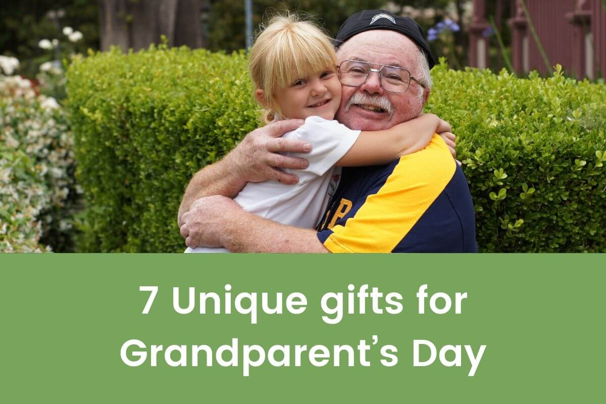 7 Unique gifts for Grandparent's Day- Featured Shot